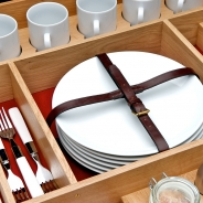 Removable Oak Picnic Set