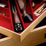 Oak Gun Drawer Inserts