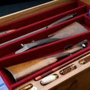 Walnut Gun Drawer