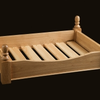 Oak Dog Bed