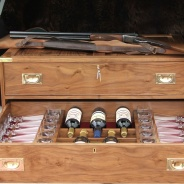 Walnut Gun Chest