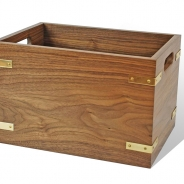 Walnut Cartridge Box