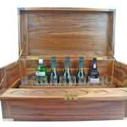 Walnut Drinks Chest