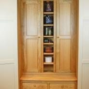 Twin Oak Gun Cabinets