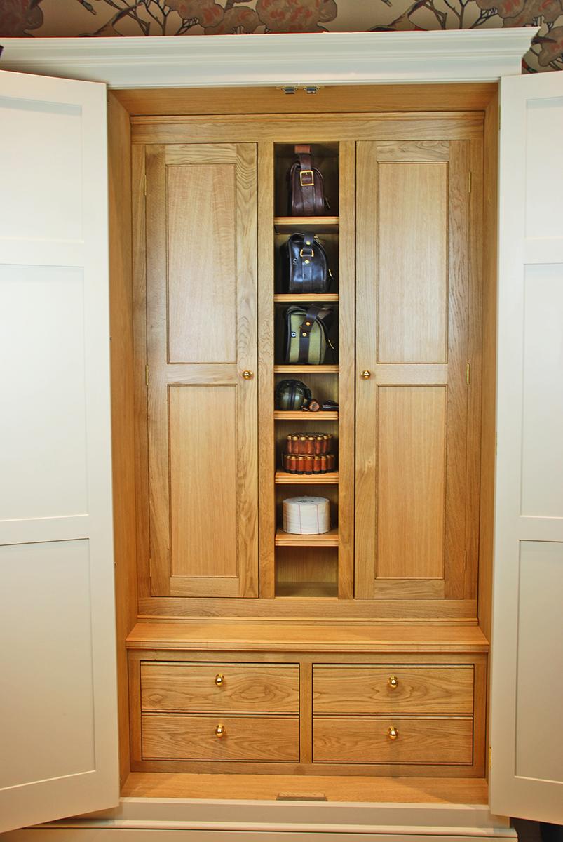 Bon Twin Oak Gun Cabinets